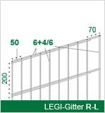 Gitter R-L  6+4/6