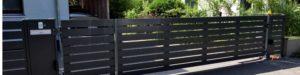 Aluminium Zaun und Tor BALU