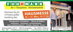 Hausmesse, Ausstellung 2019