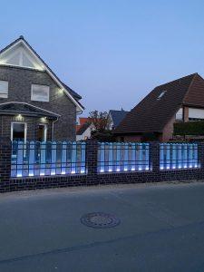 PALATON LED Beleuchtung - Zaun